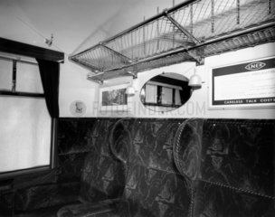First class coach with cross corridors  8th January 1945.