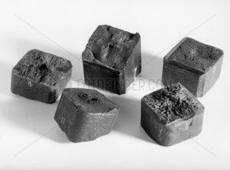 Ingot of maganese steel  1882-1884.