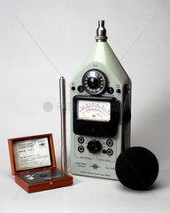 Precision sound level meter  1960-1979.