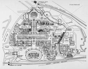 British Empire Exhibition  Wembley  1925. P