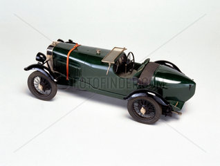 Alvis four-cylinder front wheel drive sports car  1928.