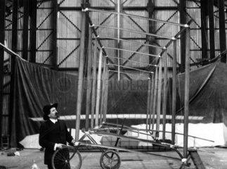 Samuel Franklin Cody  American-born British pioneer of aviation  1909.