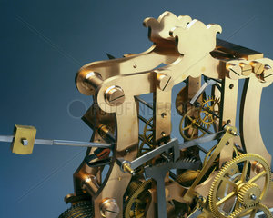 Mechanism fron a turret clock  English.