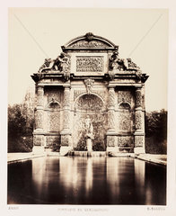 'Fontaine du Luxembourg'  Paris  c 1865.