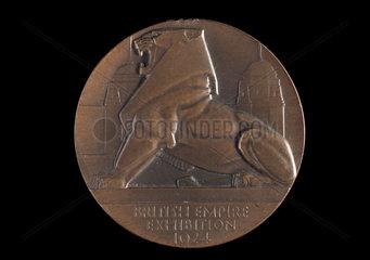 British Empire Exhibition medal  1924.