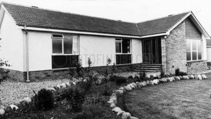 'Strome' bungalow  Scotland  November 1976.