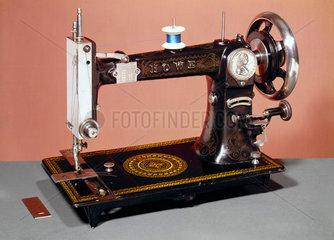 Howe lock-stitch sewing machine  1883.