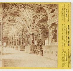 Vatican Library  1870 .
