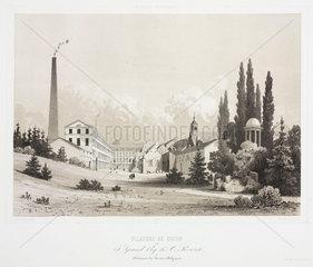 Cotton mill of J Grand Ry & O Poswick  Belgium  1830-1860.