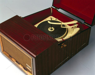 'Emisonic' stereo record player  late 1950s.