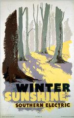 'Winter Sunshine'  SR poster  1935.