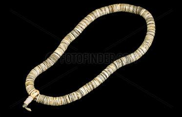 Bone necklace  Nepal  1986.
