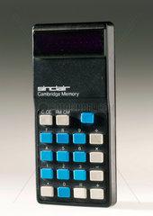 Sinclair Cambridge Memory electronic calculator  1974.
