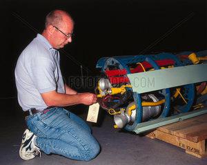 Beta 1 rocket engine  1947-1951.