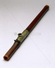 Bamboo opium pipe  19th century. Bamboo o