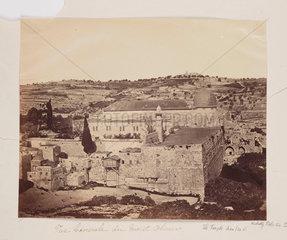 'Vue Generale de Mont Olivier'  1857.