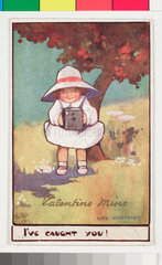 'Valentine Mine'  Kodak advertisement  c 1903.