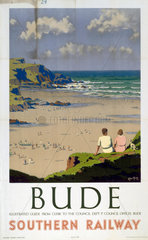 'Bude'  SR poster  1947.
