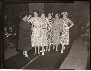 Women's fashion show  1953.