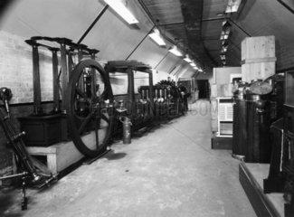 The Science Museum's Warren Row store  Maidenhead  Berkshire  1953.