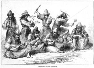 'Dervishes in Eastern Turkstan'  1874.