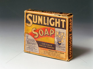 Packet of 'Sunlight' soap  c 1890-1914.