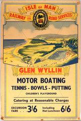 'Glen Wyllin - The Glen By The Sea'  Isle o