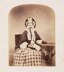Unknown woman  mid-19th century.