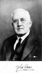 John Evans  British chemist  c 1930s.