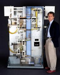 Doron Swade and the Phillip's Economic Computer  1990s.