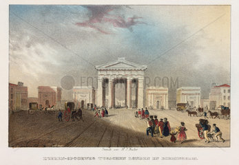 Euston Station  London  19th century.