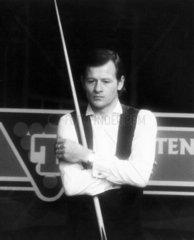 Alex Higgins  Irish snooker player  November 1986.