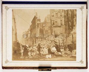 Rue du Bac  c 1870s.