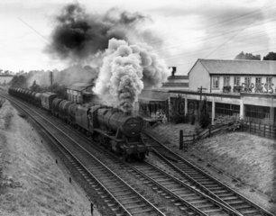 British Railways Class 8F 2-8-0 steam locom