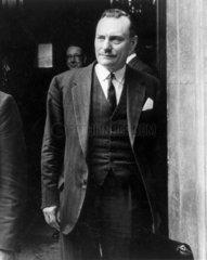 Enoch Powell  British MP  June 1983.