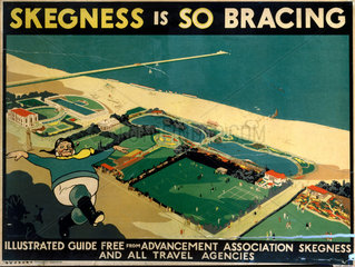 'Skegness is So Bracing'  poster  1923-1947.