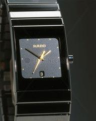Rado 'DiaStar Ceramica' analogue quartz wristwatch  1998.