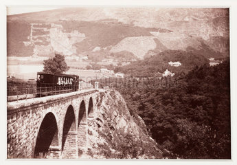 'Viaduct and Quarries'  1894.