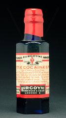 Cocaine eye drops in poison bottle  1901-1930.