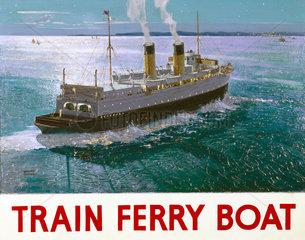 'Train Ferry Boat'  1936.
