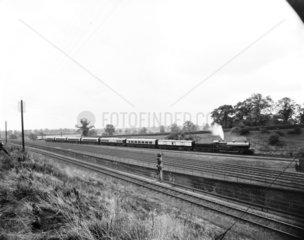 The 'Sir Gilbert Claughton' steam locomotive  Buckinghamshire  1913.