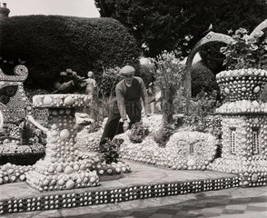 Shellscape garden  7 August 1961.