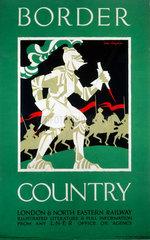 'Border Country'  LNER poster  1923-1947.