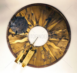 Part of dismantled grand orrery  1733.