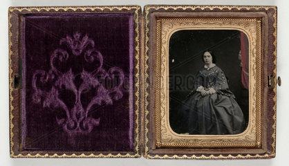 Portrait of a woman  c 1860.
