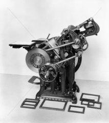 Anglo-American 'Arab' printing press  1881.
