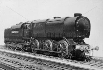 Southern Railway 'Austerity' Class Q1 0-6-0 No C1  c 1942.