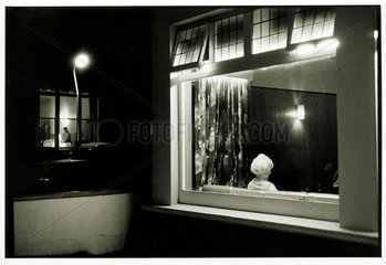 Boarding House  Newquay  Cornwall  1968.