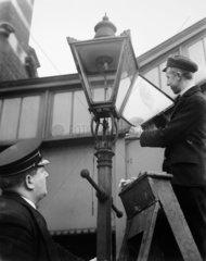 Glass lamp  1937.
