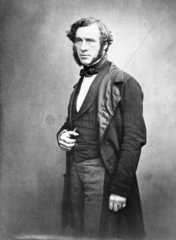 Sir William Robert Grove  Welsh lawyer and physicist  c 1850.